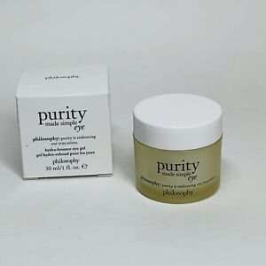Philosophy Purity Made Simple Eye 1 fl. oz. Brand new in box.