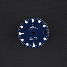 Tudor Prince 79090 QUADRANTE BLUE BLU VINTAGE SUBMARINER Dial tritio