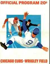 1974 (May 12) Baseball program New York Mets @ Chicago Cubs, scored ~ Fair