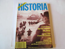 "HISTORIA 499 .. ""    6 juin 1944  sables de juno """