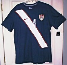 NWT Mens XL NIKE USA SOCCER  #10 Shirt Jersey Tee Navy Blue Red White