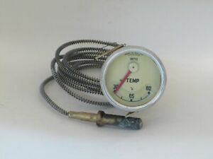 Temperature Gauge New Smiths Brand Fits Nash Metropolitan 1953-1960  X80524/2
