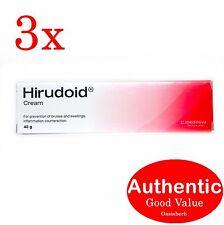 3X Hirudoid cream 40g (Regular) Medinova Scar (New!!)