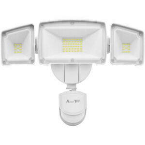 Waterproof Motion Sensor Lights Outdoor, Super Bright LED Lights ETL Certified