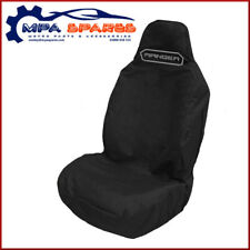 FORD RANGER BRANDED HEAVY DUTY EMBROIDERED FRONT SEAT COVER (BLACK)