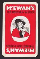 1 Single VINTAGE Swap/Playing Card McEWAN'S BEST BUY in BEER GENT Brewery