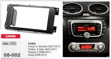 CARAV 08-002 2Din Marco Adaptador de Radio FORD Focus II S-Max C-Max Kuga Mondeo