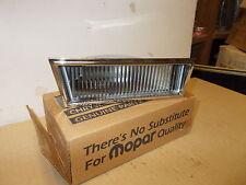 Mopar NOS Cornering Lamp Rt. 82-85 Chrys. Le Baron ,83-88 Dodge 600, New Yorker,