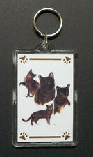 "New listing Burmese Cat Key Chain ~ 2""x3"" ~ New"