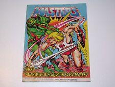 MOTU HE-MAN MASTERS OF THE UNIVERSE MINI COMIC 1983 LEECH UNLEASHED! MATTEL USA