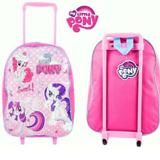 My Little Pony 38cm Junior Standard Trolley Cabin Bag Kids Children Girls Pink