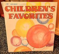 HRB Music Children's Favorites Vinyl Record 1977