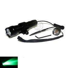 UltraFire 501B CREE Green light LED 1Mode Flashlight  + Mount / Remote Switch