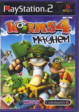 Worms 4 - Mayhem  (Playstation 2)