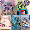 *REDUCED* Mickey Mouse Minnie Mouse Boys Girls Single Duvet Cover Kids Bed Sets