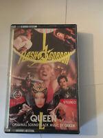 Music Cassette Tape - Flash Gordon Original Soundtrack By Queen