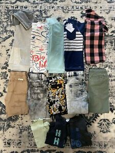 Size 7 Boys designer clothing bundle. Country Road, RYK, Ksubi, Bonds & more