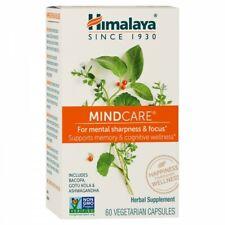 Himalaya MindCare for Mental Sharpness and Focus 60 Vegetarian Capsules EXP 2/22