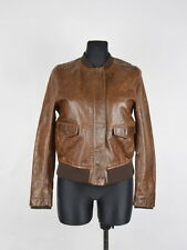 H&M Leather Women Jacket Size EUR-34,US-4, Genuine