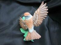 Lenox Bird Figurine Chipping Sparrow Fine Porcelain 1990