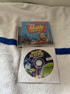 Math Blasters Master If The Basics And Reader Rabbit Math Kids 6-9