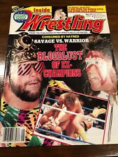 Inside Wrestling May 1991 The Bloodlust Of Ex Champions