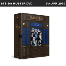 BTS 5th MUSTER MAGIC SHOP DVD Ver Disc+Photobook+Photocard+ETC+Tracking Num
