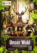 WWF UNSER WALD alle 180 Sticker komplett + Leeralbum