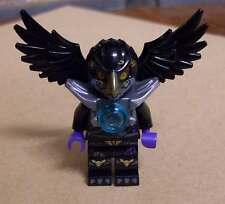 LEGO Legends of Chima-RAZCAL personaggio Uccelli Nero Ali e maschera raskal NUOVO