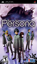 Shin Megami Tensei Persona Portable BRAND NEW Sony PSP Black Label Atlus Games