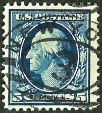 OLD US stamp OLD USa sc#378 washington/franklin son eye appealing new york xf