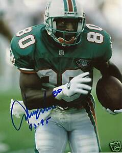 Irving Fryar Miami Dolphins Autographed 8x10 Photo