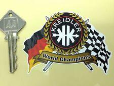 KREIDLER Motor rad Garland helmet or motorcycle sticker