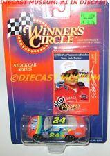 JEFF GORDON #24 DUPONT MONTE CARLO 1998 STOCK CAR SERIES DIECAST WINNERS CIRCLE