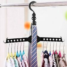 Magic Multi Folding Clothes Hangers Space Saving Hook Rack Wardrobe Organizer