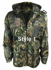 New Mens REALTREE Camouflage Waterproof Hunting Jacket Coat Shooting Fishing