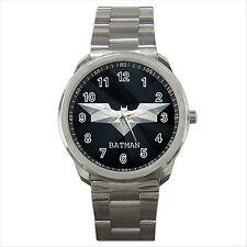 BATMAN BAT HERO Quality Sport Metal Watch Gift NEW D06