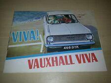 Vauxhall Viva HA Sales Brochure Very Good Condition 1963 FREE POSTAGE