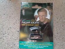NEW Select-A-Vision Night Light Mini Eyewear Light Attaches To Any Eyewear NEW