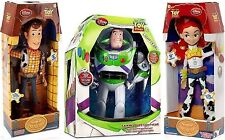 Toy Story Woody, Buzz Lightyear, Jessie Cowgirl TALKING action figure Dolls