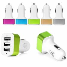 Universal Car Charger For iPhone Samsung ipod Triple 3-Port USB Adapter 2A 2.1A