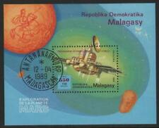 1989. MADAGASCAR. MINISHEET. INTERNATIONAL MARS RESEARCH PROGRAM