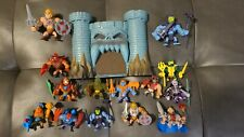 He-Man minis figures set Masters of the Universe Castle Grayskull baf - Lot