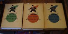 Vol Pol Zu Pol SVEN HEDIN 3 Volumes TRAVEL CLASSICS German FREE US SHIPPING LOOK