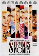 NEW FRENCH DVD //  8 WOMEN // Fanny Ardant, Emmanuelle Béart, Danielle Darrieux