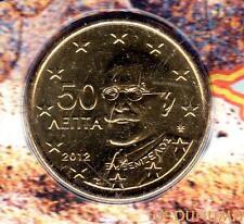 Grèce 2012 - 50 Centimes d'Euro 20 000 exemplaires Provenant du coffret BU RARE