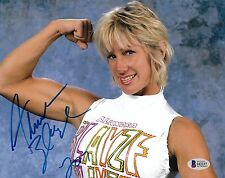 Alundra Blayze Signed 8x10 Photo BAS Beckett COA WWE Madusa Picture Autograph 1