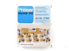Ho Preiser 17184 Office Equipment : 1/87 Model Interior Detail Kit (f)