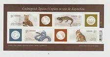 Canada 2006 Endangered Species I Souvenir Sheet MNH #2173