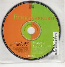 (GU74) Funky Karkurit, Hiljaiset Hetkeni / Elaman Tivoli - 1996 CD
